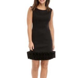 Donna Ricco Scuba Cupcake Dress Cap Sleeves
